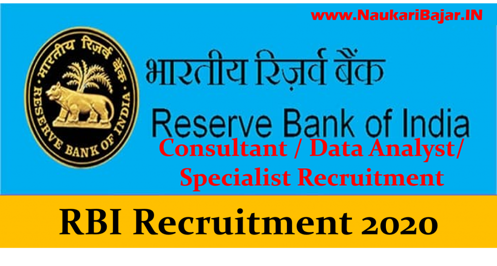 RBI Consultant Online Form