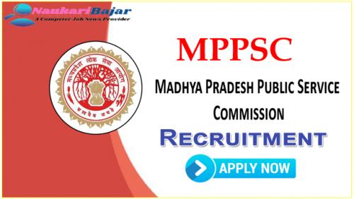 MPPSC Medical Officer Vacancy MP Recruitment 2021